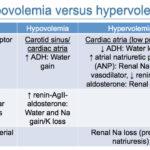 Hypovolemia versus hypervolemia